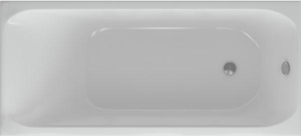 Акриловая ванна Акватек Альфа 140 см