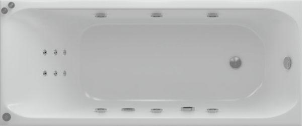 Акриловая ванна Акватек Альфа 170 см