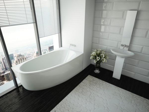 Акриловая ванна Акватек Дива R