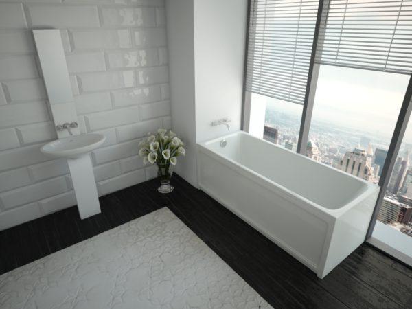 Акриловая ванна Акватек Мия 150 см