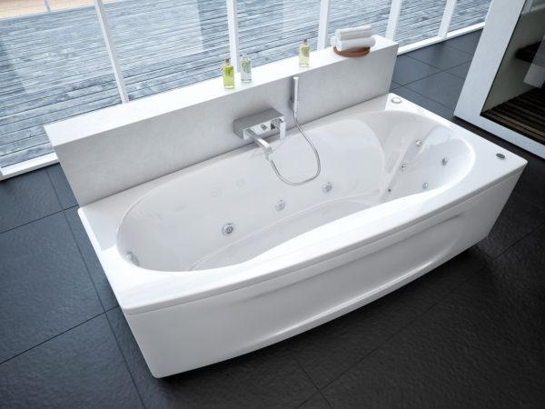 Акриловая ванна Акватек Пандора R