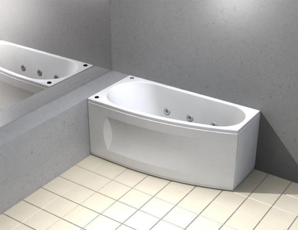 Акриловая ванна Акватек Пандора L