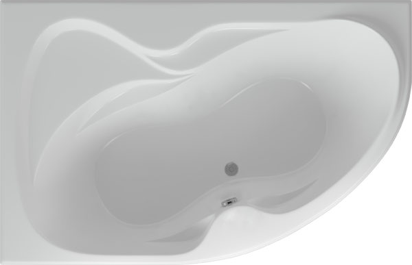 Акриловая ванна Акватек Вега L