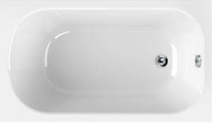 Акриловая ванна Cezares Eco 120x70