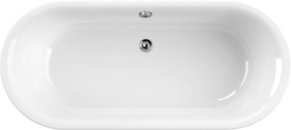 Акриловая ванна Cezares Metauro Central 180x80