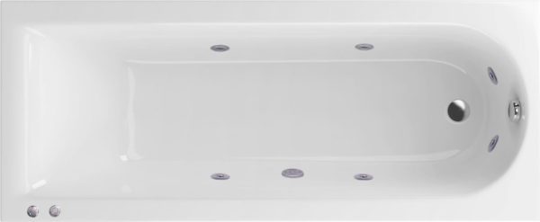 Акриловая ванна Excellent Actima Aurum Hydro 150x70