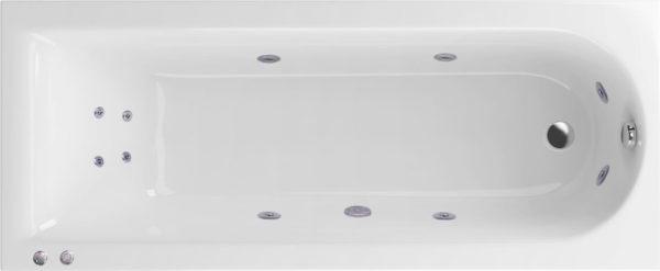 Акриловая ванна Excellent Actima Aurum Hydro+ 150x70