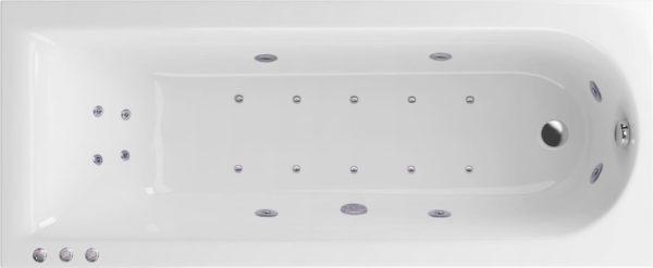 Акриловая ванна Excellent Actima Aurum Lux 150x70