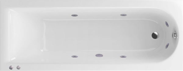 Акриловая ванна Excellent Actima Aurum Hydro 170x70