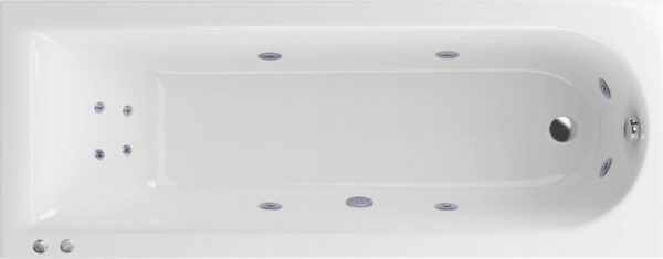 Акриловая ванна Excellent Actima Aurum Hydro+ 170x70