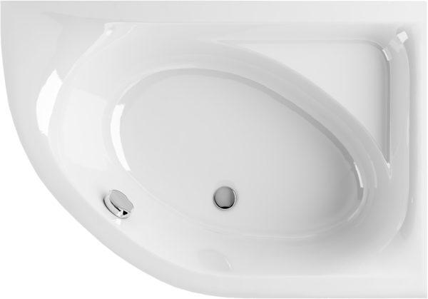 Акриловая ванна Excellent Aquarella 150x100, правая