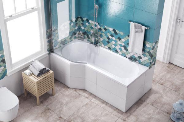 Акриловая ванна Excellent Be Spot 160x80 левая