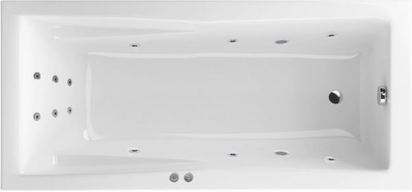 Акриловая ванна Excellent Palace Line 180x80