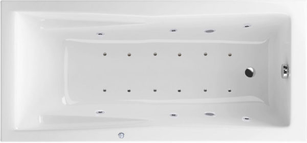 Акриловая ванна Excellent Palace Relax 180x80