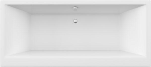 Акриловая ванна Excellent Pryzmat Lux 180x80