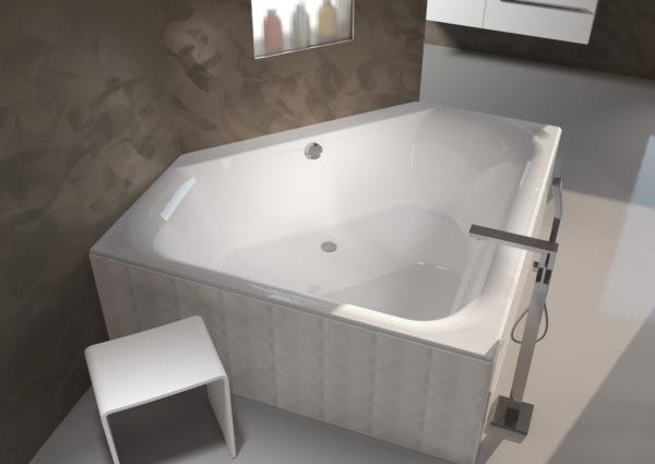 Акриловая ванна Riho Austin 145