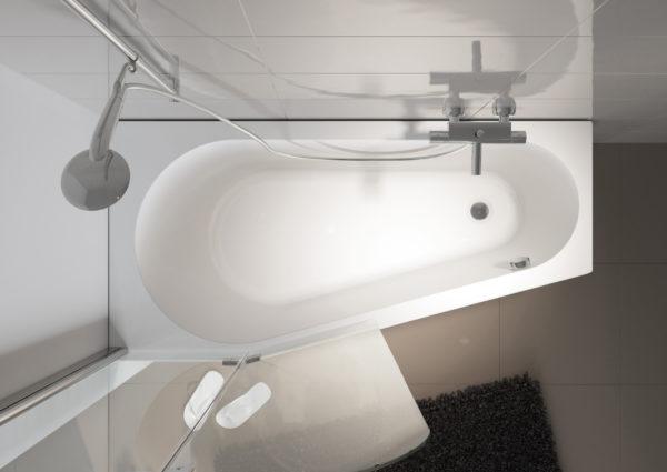 Акриловая ванна Riho Delta 150 R