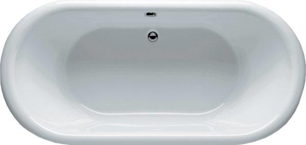 Акриловая ванна Riho Dua 180 белая панель