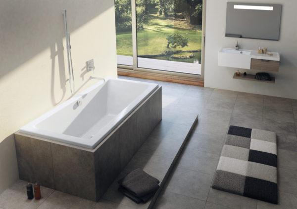 Акриловая ванна Riho Lusso 170x75