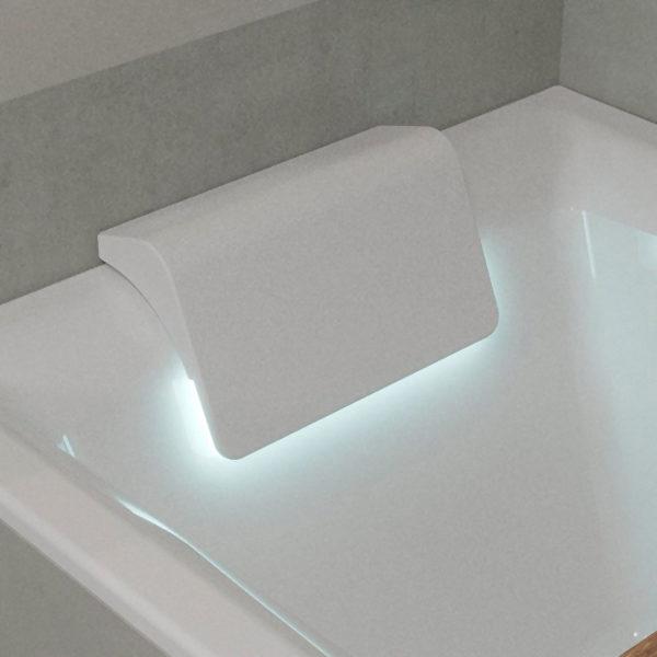 Акриловая ванна Riho Still Square 180x80 два подголовника