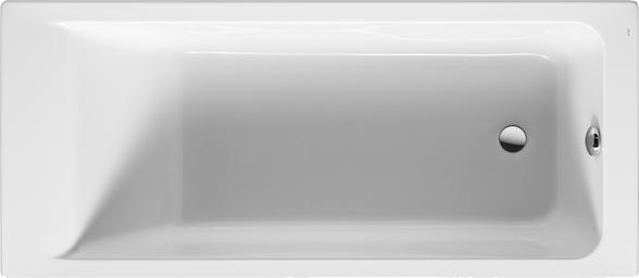Акриловая ванна Roca Easy 170x75 см