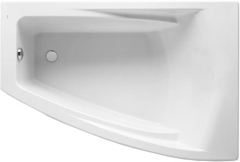 Акриловая ванна Roca Hall Angular 150x100 R