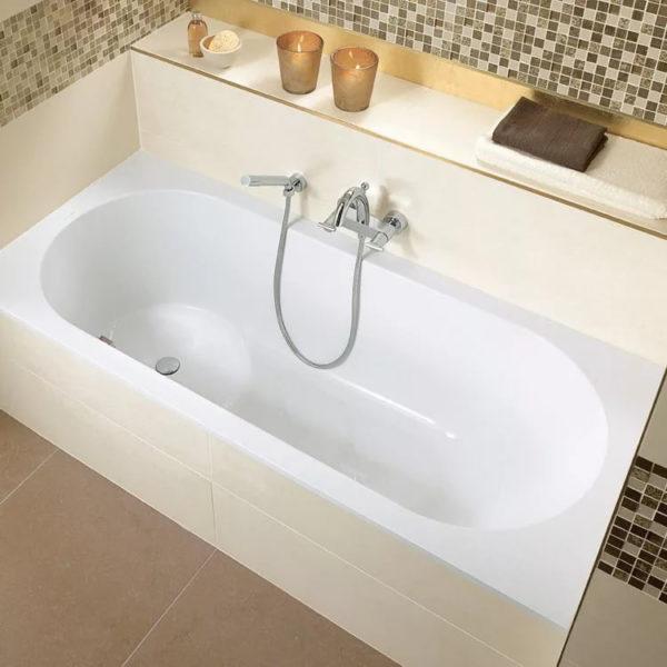 Акриловая ванна Villeroy & Boch Libra 180x80 см alpin