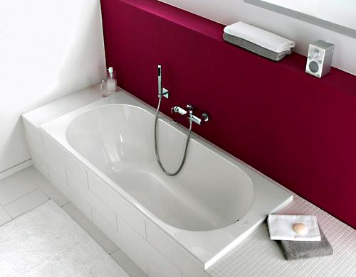 Акриловая ванна Villeroy & Boch Oberon UBQ170OBE2V-01 alpin