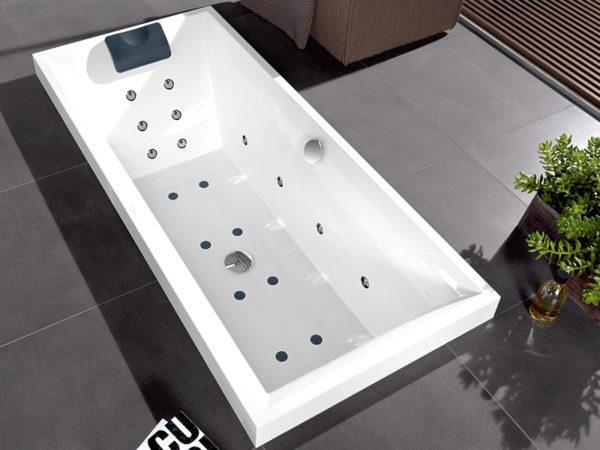 Акриловая ванна Villeroy & Boch Squaro UBQ170SQR2V-01 alpin