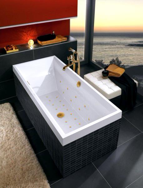 Акриловая ванна Villeroy & Boch Squaro UBQ180SQR2V-01 alpin