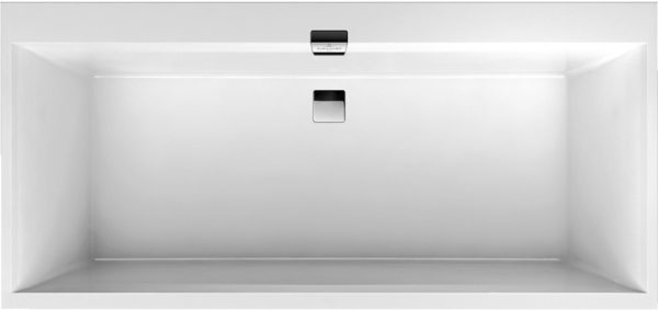 Акриловая ванна Villeroy & Boch Squaro Edge 12 UBQ190SQE2DV-01 alpin