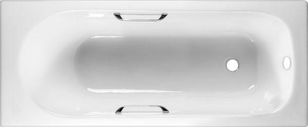 Чугунная ванна Byon B13 170x70x42 с ручками