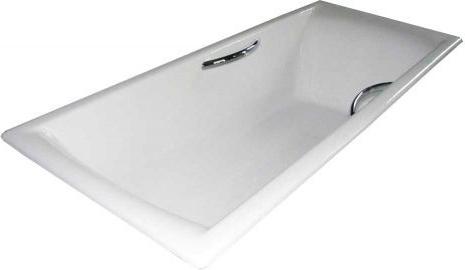 Чугунная ванна Castalia Prime 180x80x48 с ручками