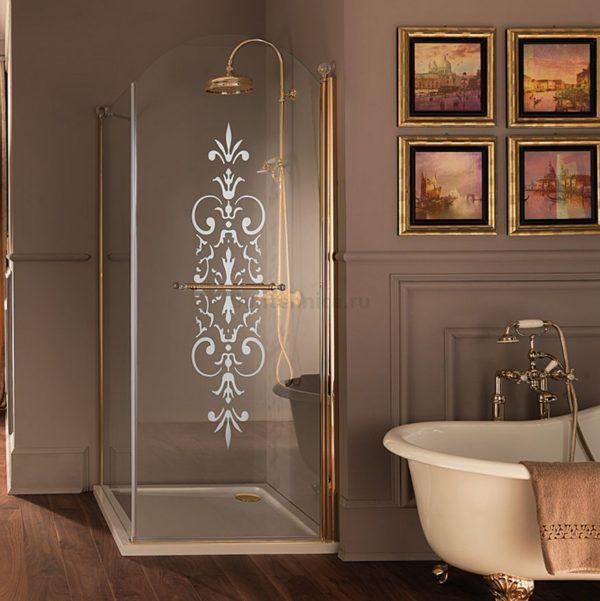 Чугунная ванна Devon&Devon Admiral ножки золото