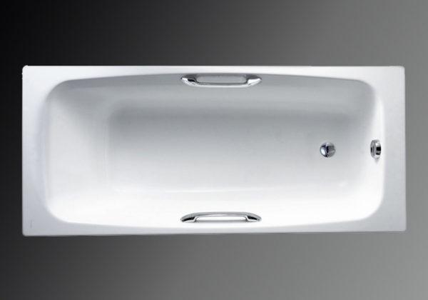 Чугунная ванна Jacob Delafon Diapason E2926 с ручками
