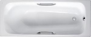 Чугунная ванна Jacob Delafon Melanie E2925 с ручками