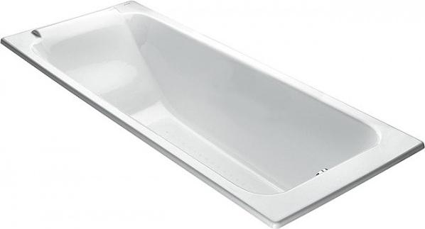 Чугунная ванна Jacob Delafon Parallel E2947 без ручек
