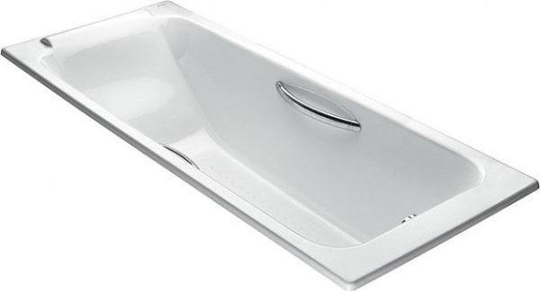 Чугунная ванна Jacob Delafon Parallel E2949 с ручками