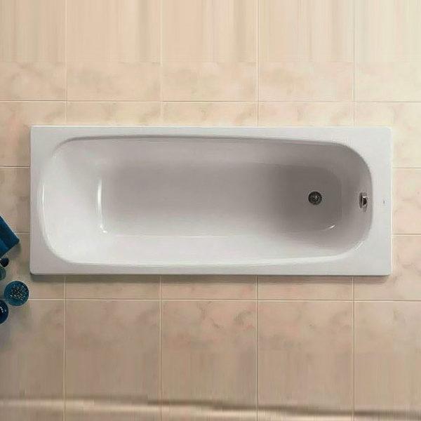 Чугунная ванна Roca Continental 212914001 140х70 см