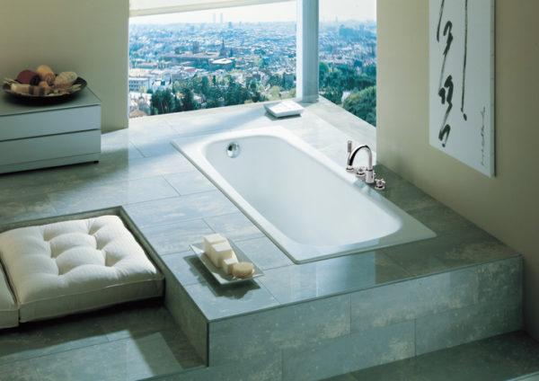 Чугунная ванна Roca Continental 21291300R 150х70 см