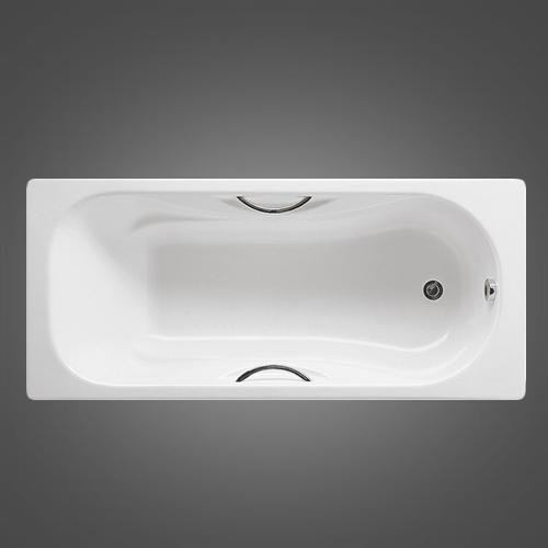 Чугунная ванна Roca Malibu 2333G0000 170х70 см
