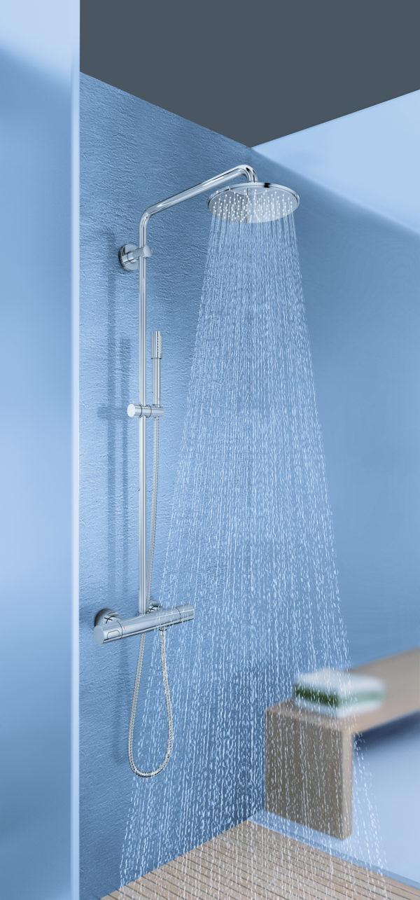 Душевая стойка Grohe Rainshower System 210 27032001