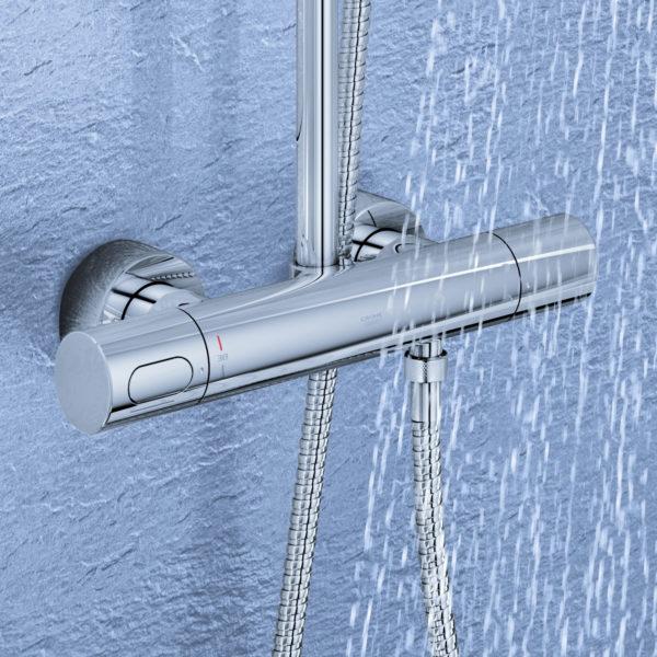 Душевая стойка Grohe Rainshower System 210 27967000