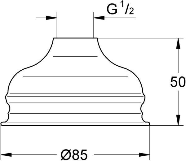 Верхний душ Grohe Relexa 28404000