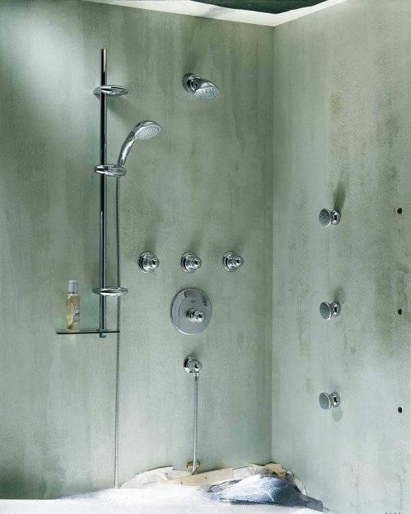 Верхний душ Grohe Movario 100 Five 28513000
