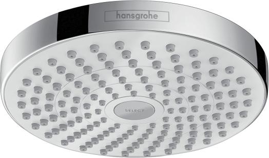 Верхний душ Hansgrohe Croma Select S 26522400 белый/хром