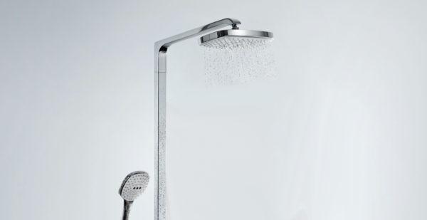 Душевая стойка Hansgrohe Raindance Select E 300 2jet 27128400 Showerpipe