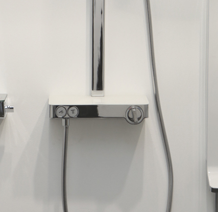 Душевая стойка Hansgrohe Raindance Select E 300 2jet 27126000 Showerpipe