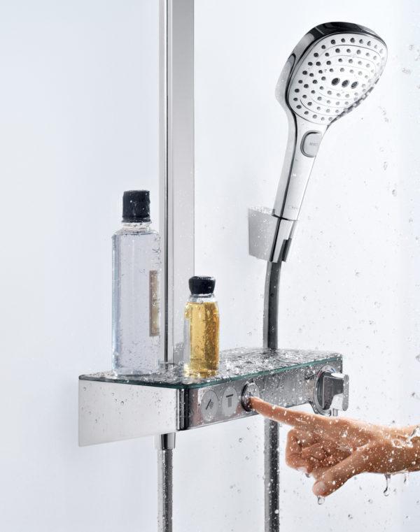 Душевая стойка Hansgrohe Raindance Select E 300 3jet 27127000 Showerpipe