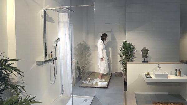 Душевая стойка Hansgrohe Rainmaker Select 460 3jet showerpipe